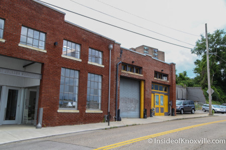West Jackson Workshops, Former Home of Boxwood Brake, Future Home of Knox Whiskey Works, Knoxville, June 2015
