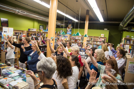 A Toast to Harper Lee, Union Avenue Books, Knoxville, July 2015