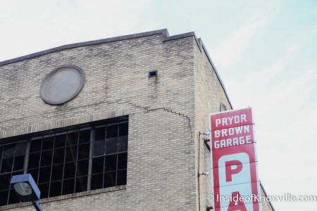 Pryor Brown  Garage, Knoxville, June 2015