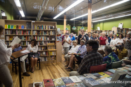 "Mary Pom Claiborne reads from ""Go Set a Watchman,"" Union Avenue Books, July 2015"