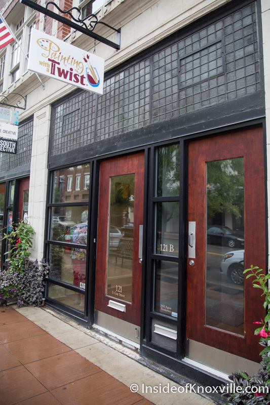 Painting With a Twist Opens at 121 S. Gay Street