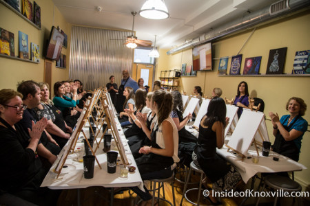 Painting With a Twist, 121 S. Gay St., Knoxville, July 2015