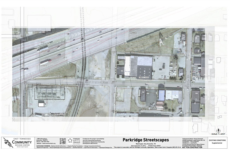 A Proposal for Parkridge from the E. TN Community Design Center