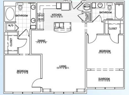 Aggie 1157 Sq Ft $1759