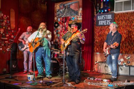 Barstool Romeos, Blankfest, Preservation Pub, Knoxville, August 2015