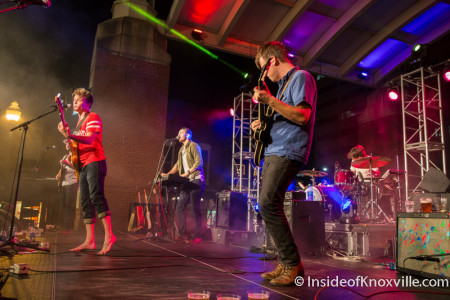 Black Cadillacs, Blankfest, Market Square Stage, Knoxville, August 2015