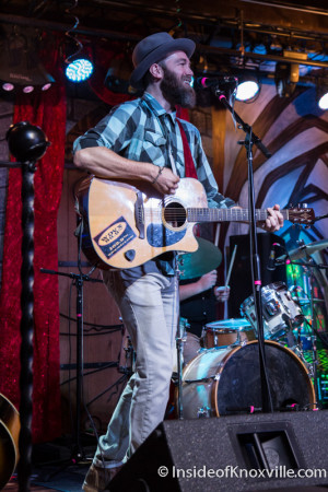 Brent Thompson and the Wandering, Blankfest, Scruffy City Hall, Knoxville, August 2015