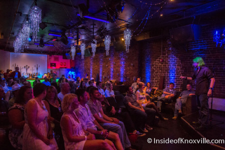 Comedian J.C. Ratliff, Blankfest, Cocoa Moon, Knoxville, August 2015