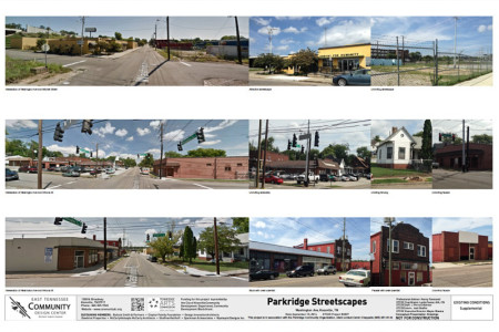 Current Photographs of the Area for Proposed Streetscape Project, Knoxville, July 2015