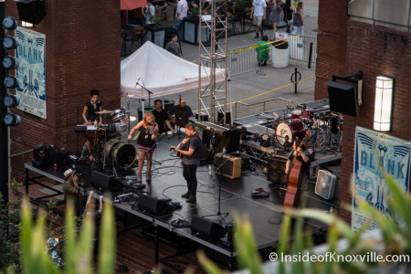 David Mayfield Parade, Blankfest, Market Square Stage, Knoxville, August 2015