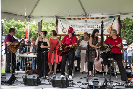 David West and  the Ciderville Band, East Tennessee History Fair, Knoxville, August 2015
