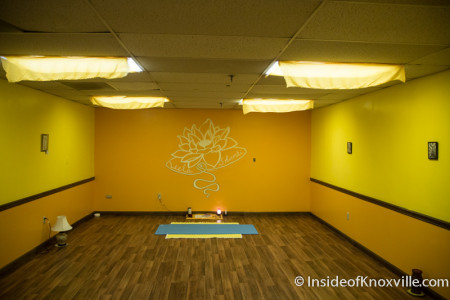 Downtown Yoga, 1400 N. 6th Avenue, Knoxville, July 2015
