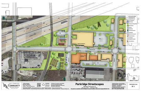 E. TN. Community Design Center Proposal for Parkridge, Knoxville, July 2015