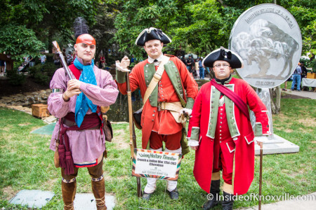 East Tennessee History Fair, Knoxville, August 2015