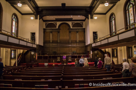 First Christian Church, 211 W. Fifth Avenue Knoxville, August 2015