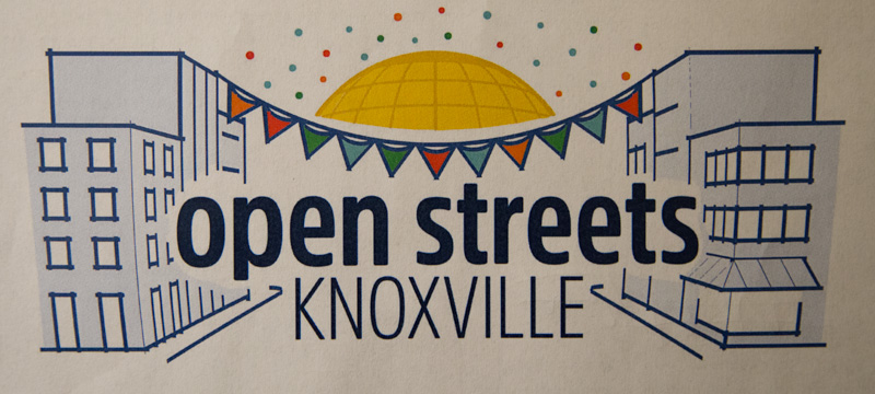 """Open Streets"" Comes to Knoxville in October!"