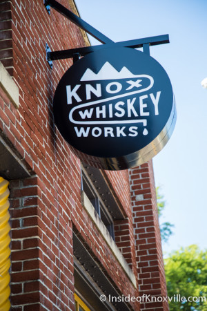 Knox Whiskey Works, 516 West Jackson Avenue, Knoxville, August 2015