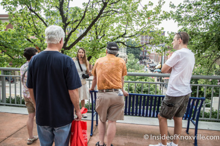 Knoxville Walking Tours, East Tennessee History Fair, Knoxville, August 2015