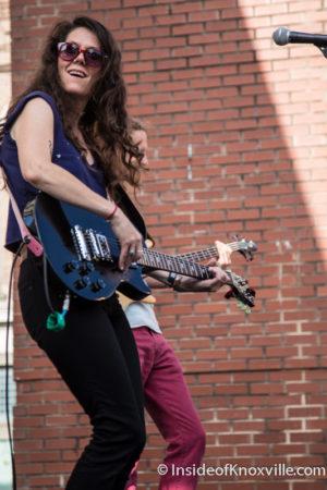Lily Hiatt, Blankfest, Knoxville, August 2015