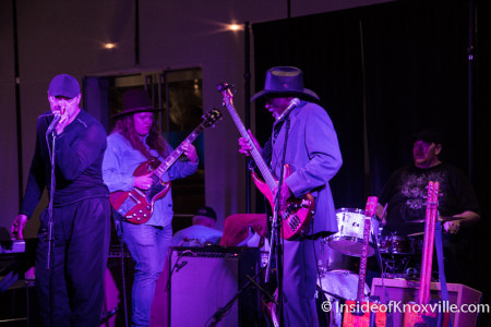 Mac Arnold Band, Alive After Five, Knoxville Museum of Art, January 2015