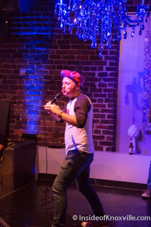QED Comedy Lab with Jeff Blank, Blankfest, Cocoa Moon, Knoxville, August 2015