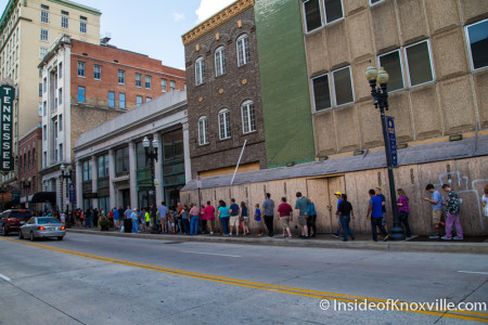 Weird Al Yankovic Line, Knoxville, August 2015
