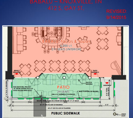 JC Penney Building, Babalu Plans, 414 S. Gay, Knoxville, September 2015-1