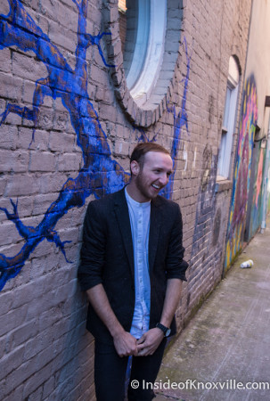 Jeremy Wann at Old City Java, Knoxville, September 2015