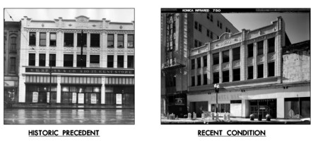 Kress Building Historic and  Recent