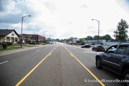 Magnolia Avenue Corridor, Knoxville, August 2015