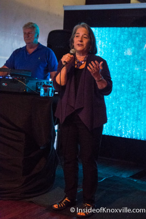Mayor Rogero, Sapphire Modern Bar and Restaurant, 428 S. Gay, 10th Anniversary Party, Knoxville, September 2015
