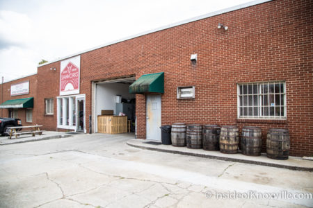 Saw Works Brewing Company, Knoxville, September 2015