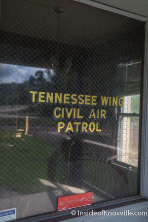 Site of Proposed Restaurant, Civil Air Patrol, 1147 Sevier Ave., Knoxville, September 2015