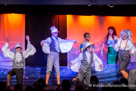 "The Knoxville Children's Theatre's production of ""The Little Mermaid,"" Knoxville, September 2015"
