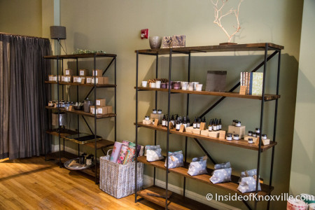 Wild Lavender Spa, 525 Union Avenue, Knoxville, August 2015