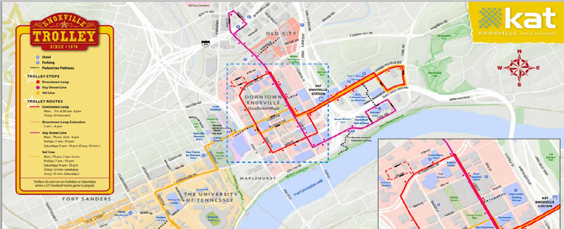 Want to Re-design the Trolley Routes? Here's Your Chance!