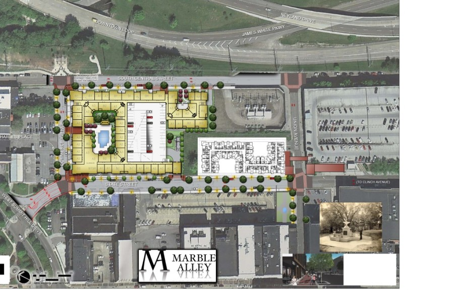 A Look at the Plans for Marble Alley, Phase II