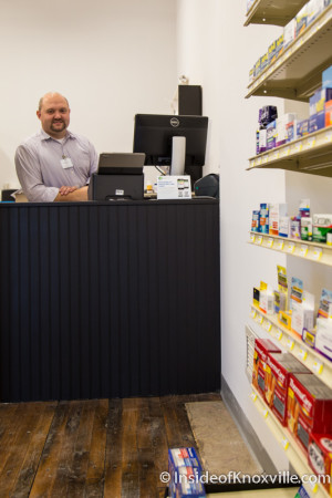 Charlie Southerland, Phoenix Pharmacy, 418 S. Gay St., Knoxville, October 2015