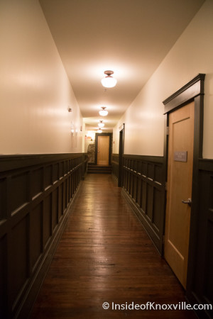 Hallway Inside the JC Penney Bldg, 412 - 416 Gay Street, Knoxville, October 2015