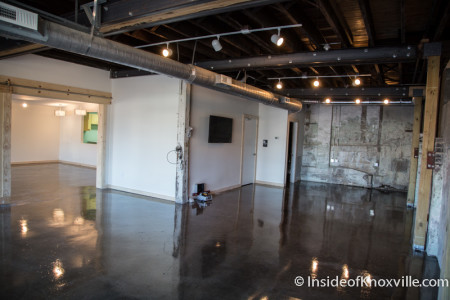 Downstairs, The Central Collective, 919, 921 and 923 Central St., Knoxville, October 2015