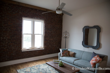 Inside a Unit in the Mews, 129 S. Central St., Knoxville, October 2015