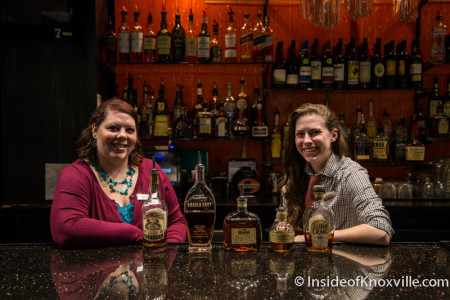 Jessica Moreno (Food and Beverage Director) and Katie Simmons (Asst. Food and Beverage Director), Marble City Kitchen, Hilton, 501 W. Church Ave., Knoxville, September 2015