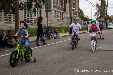 Open Streets Knoxville, Central Street, Knoxville, October 2015