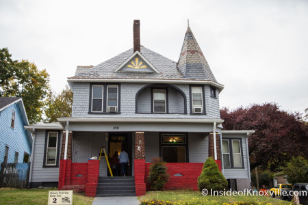 Parkridge Home Tour, 1731 Jefferson Ave., Knoxville, October 2015