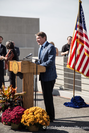 Randy Boyd, ECD Commissioner, Knoxville, October 2015