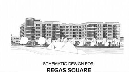 Regas Square Rendering