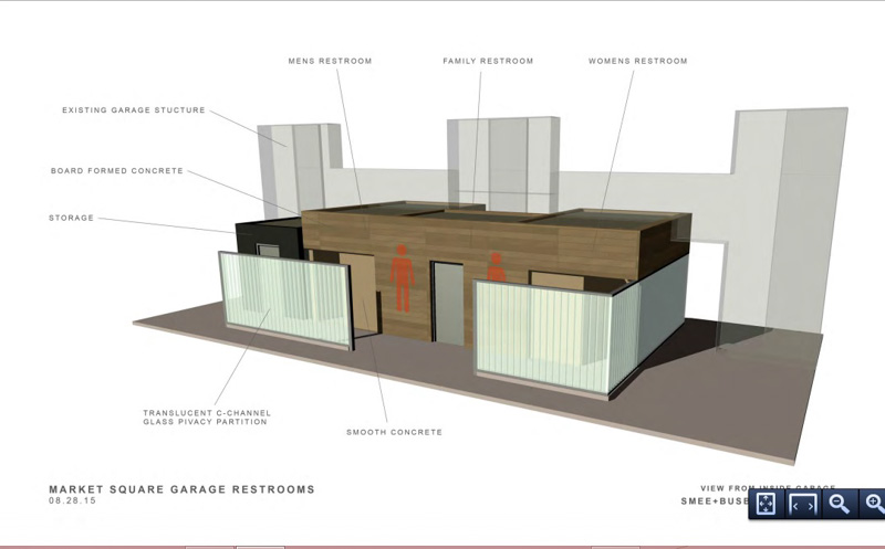 Bathroom Partitions Knoxville Tn new restrooms coming to market square garage | inside of knoxville