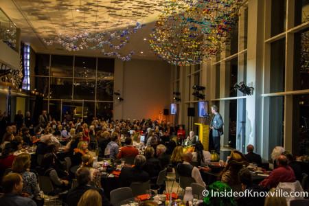 Wayne Blasius, East TN Community Ctr Award Celebration, Knoxville Museum of Art, October 2015
