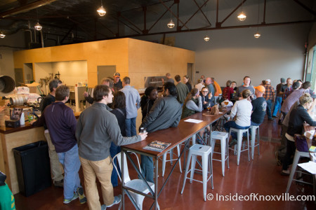 Alliance Brewing Company, 1130 Sevier Ave., Knoxville, November 2015