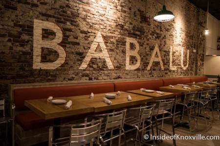 Babalu, 412 S. Gay Street, Knoxville, November 2015